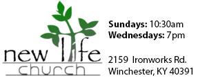 Logo New Life Assemblies of God Church in Winchester Kentucky